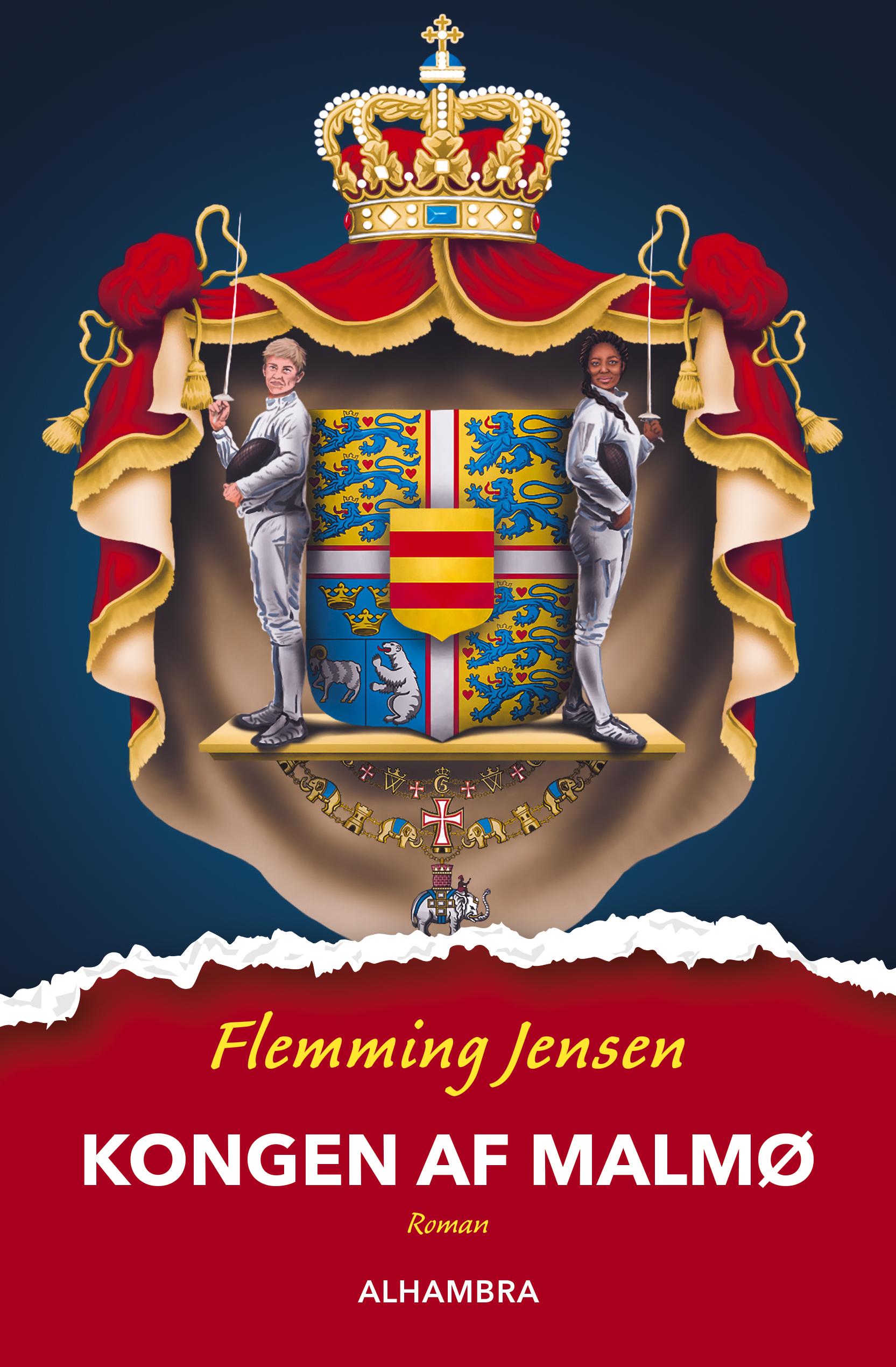 Kongen af Malmø - roman af Flemming Jensen